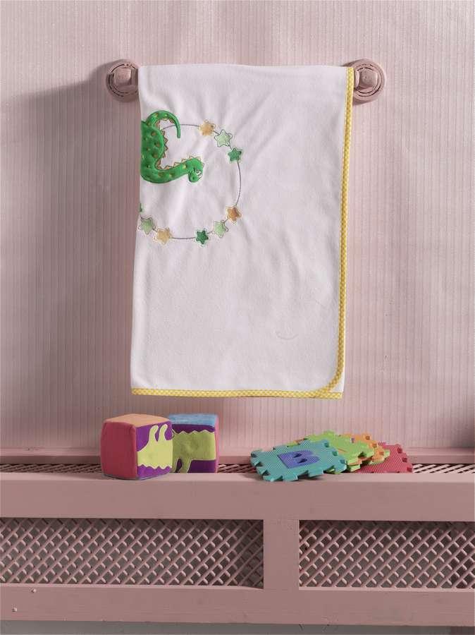 Купить Плед флисовый Kidboo Baby Dinos, 80x120 см,