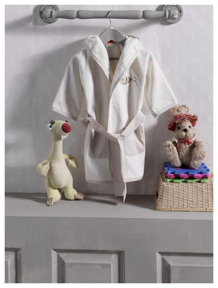 Халат махровый Kidboo Honey Bear Linen,