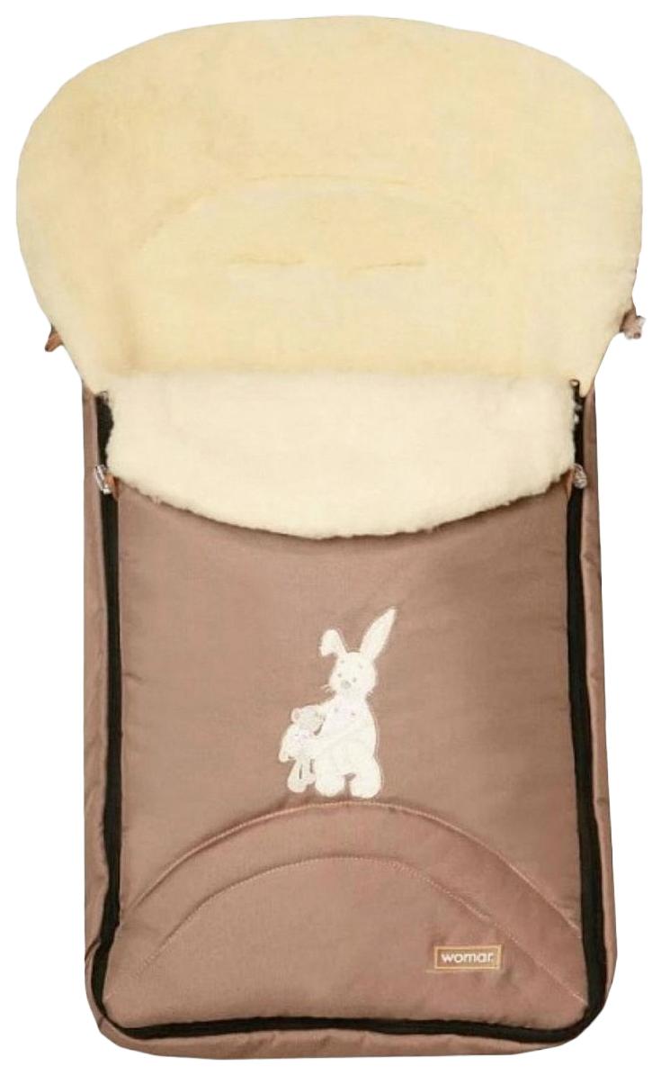Купить Конверт-мешок для детской коляски Womar Aurora №06 темно-бежевый,