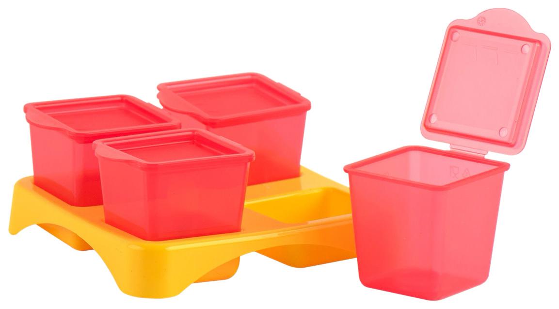Гравитационные контейнеры для хранения еды Lubby Tubi
