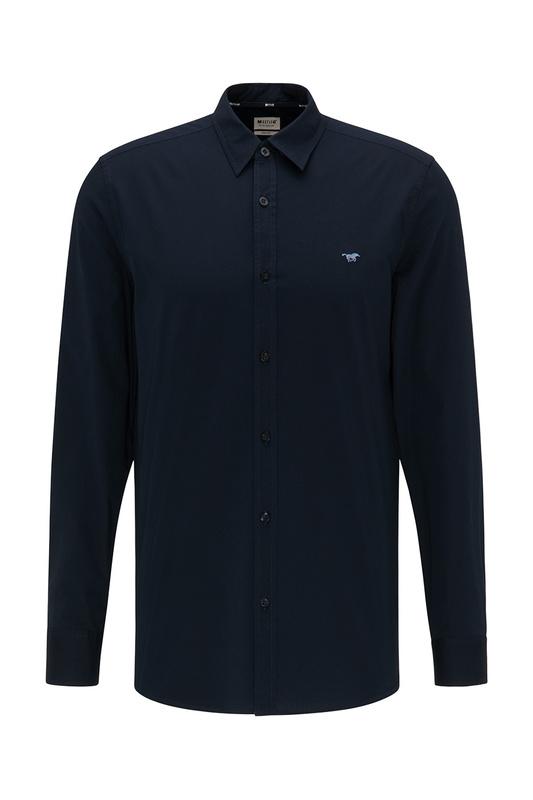 Рубашка мужская MUSTANG 1008977-5323 синяя S