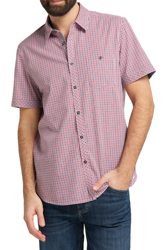 Рубашка мужская MUSTANG 1009557-11735 розовая S