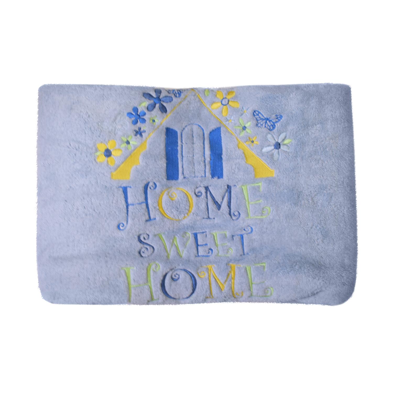 Купить Плед велсофт Kidboo Sweet Home blue, 80x120 см,