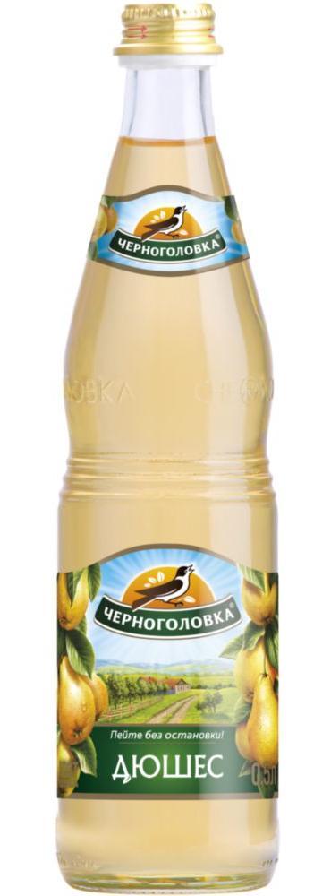 Лимонад Напитки из Черноголовки дюшес стекло 0.5 л фото