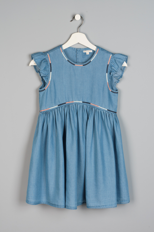Платье Original Marines AVP3117F2 цв.синий р.152 AVP3117F2_синий
