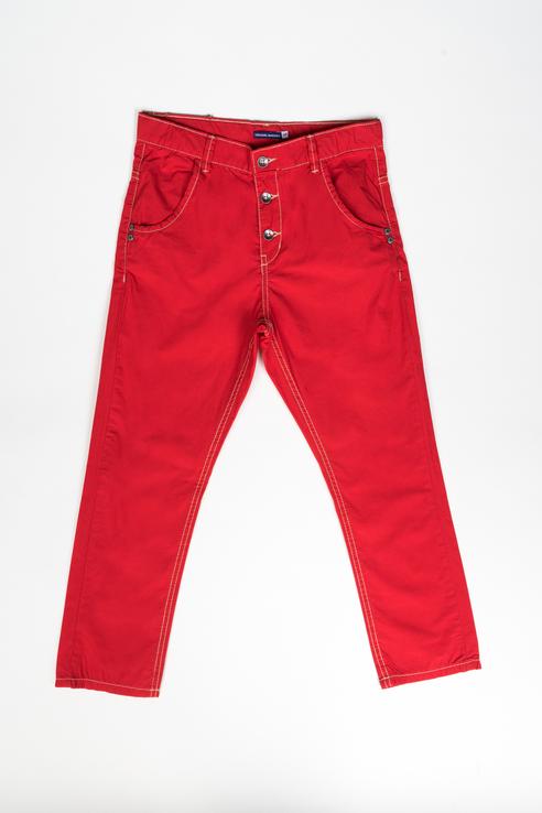 Купить AVP2228B1_красный, Джинсы Original Marines AVP2228B1 цв.красный р.104,