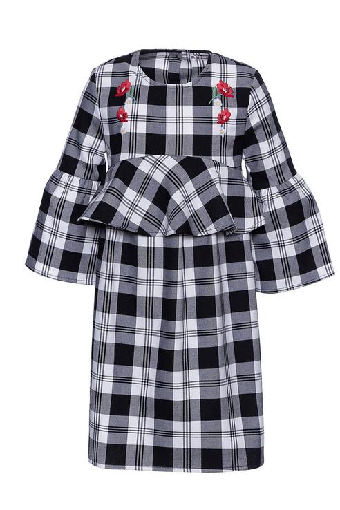 Купить AVA3612F1_мультиколор, Платье Original Marines AVA3612F1 цв.мультиколор р.128,
