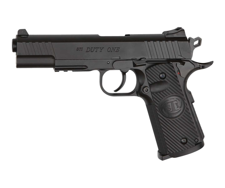Пистолет пневматический ASG STI DUTY ONE (Colt 1911) металл/черный (артикул 16730) фото