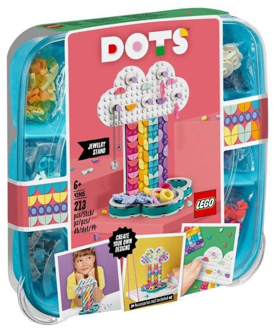 Конструктор LEGO DOTS 41905 Подставка для украшений Радуга Подставка для украшений «Радуга»