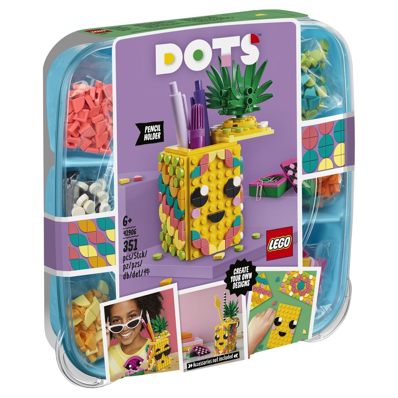 Купить Подставка для карандашей «Ананас», Конструктор LEGO DOTS 41906 Подставка для карандашей Ананас,