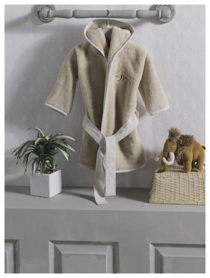 Халат флисовый Kidboo Honey Bear Linen,