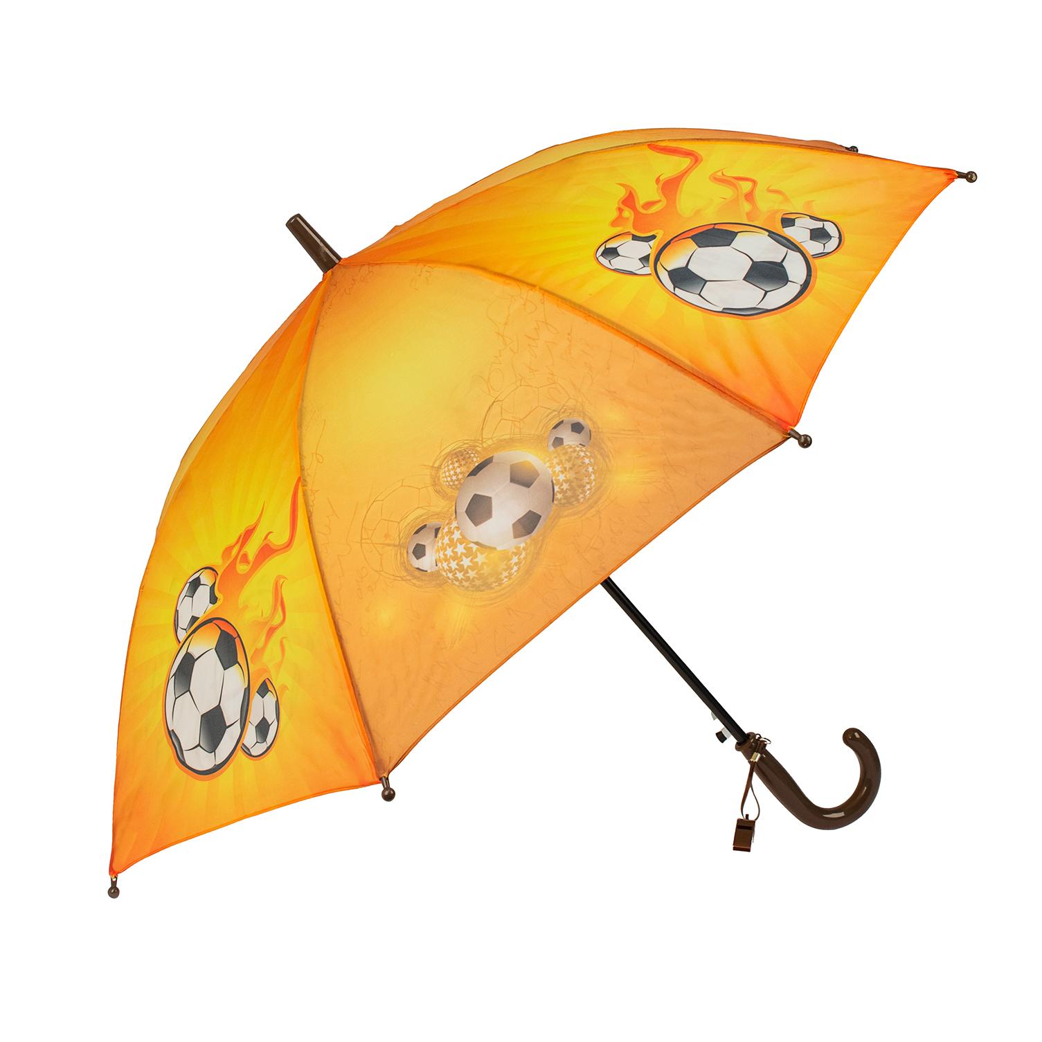 Зонт детский Rain Lucky для мальчиков Футбольный