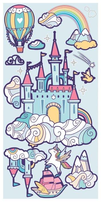 Купить Наклейки интерьерные, Наклейки Laika интерьерные Замок настоящей принцессы 2116, LAICA,
