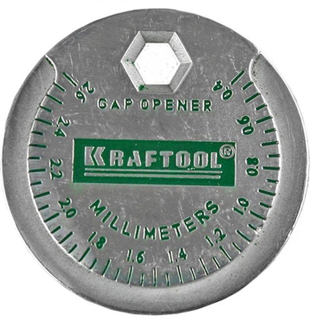 Измеритель зазора свечи KRAFTOOL с градуировкой,