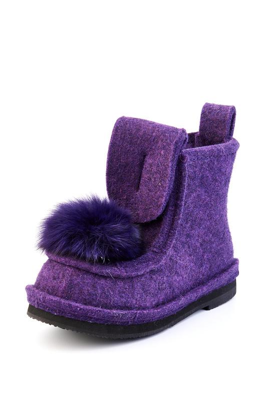 Валенки женские Summergirl 888 фиолетовые 35 RU