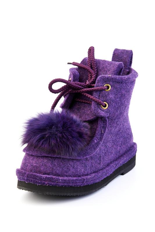 Валенки женские Summergirl 555 фиолетовые 36 RU
