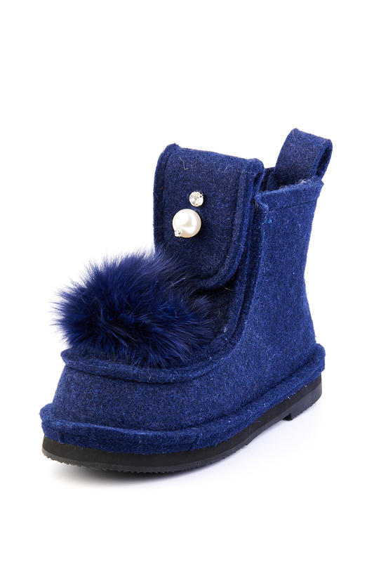 Валенки женские Summergirl 111 синие 35 RU