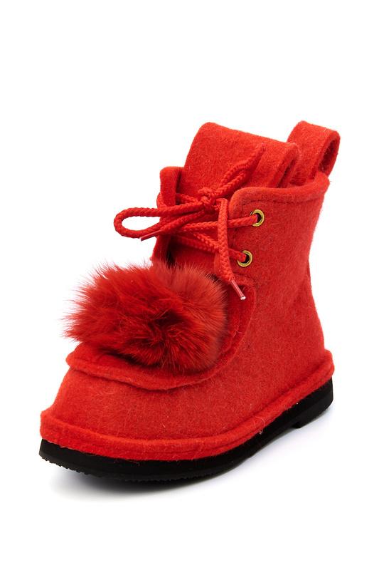 Валенки женские Summergirl 555 красные 36 RU
