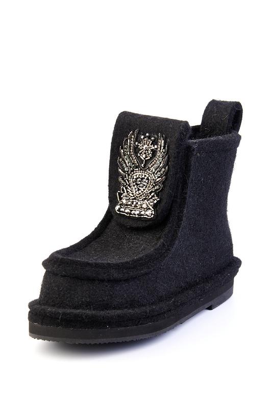 Валенки женские Summergirl 999 черные 35 RU