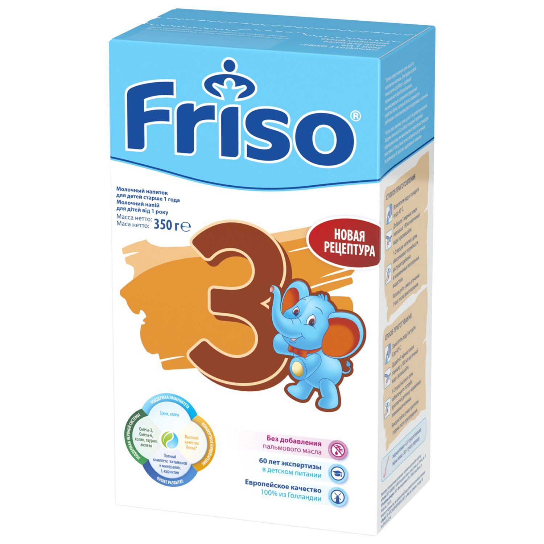 Детская смесь Friso 3 New LockNutri с 1 до 3 лет, 350 г