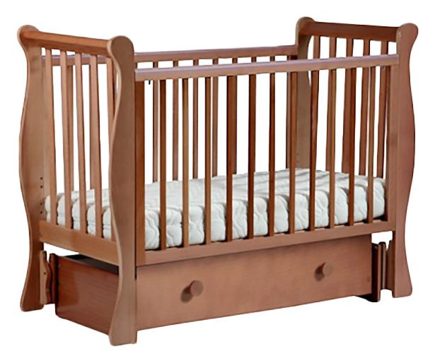 Купить Кровать детская Лель Лаванда с универсальным маятником орех светлый АБ 21,
