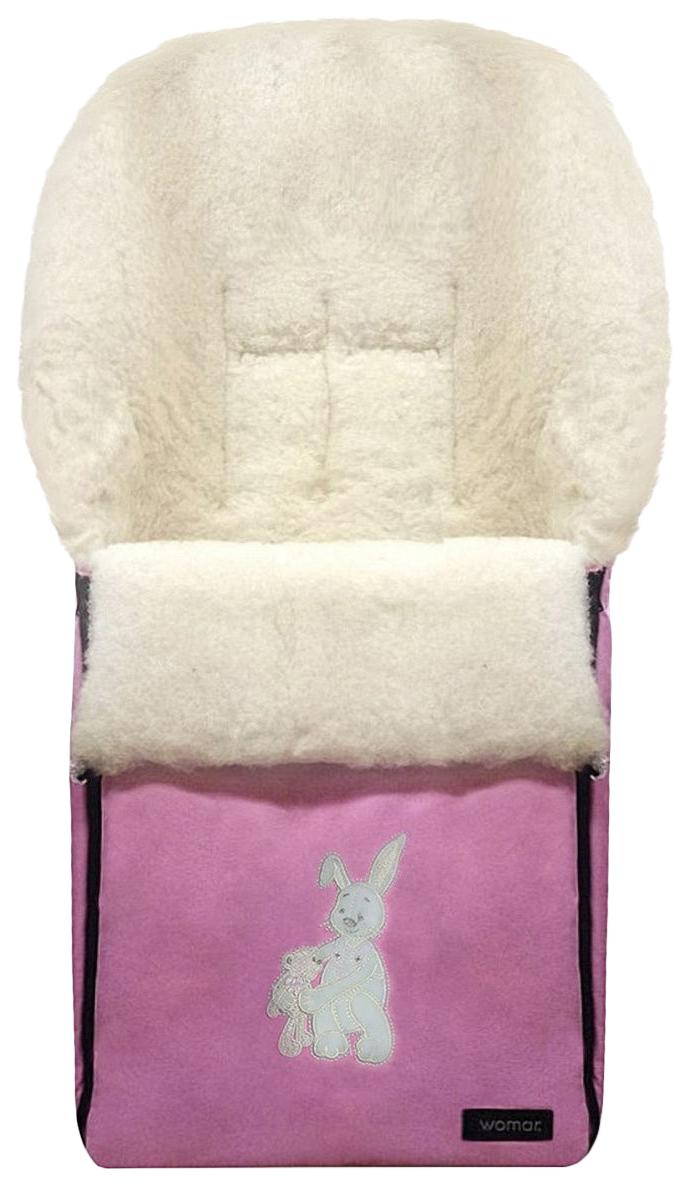 Купить Конверт-мешок для детской коляски Womar Aurora №06 3 розовый,