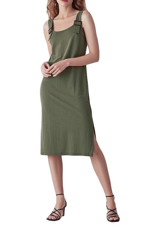 Платье майка женское LOVE REPUBLIC 2561090514 зеленое