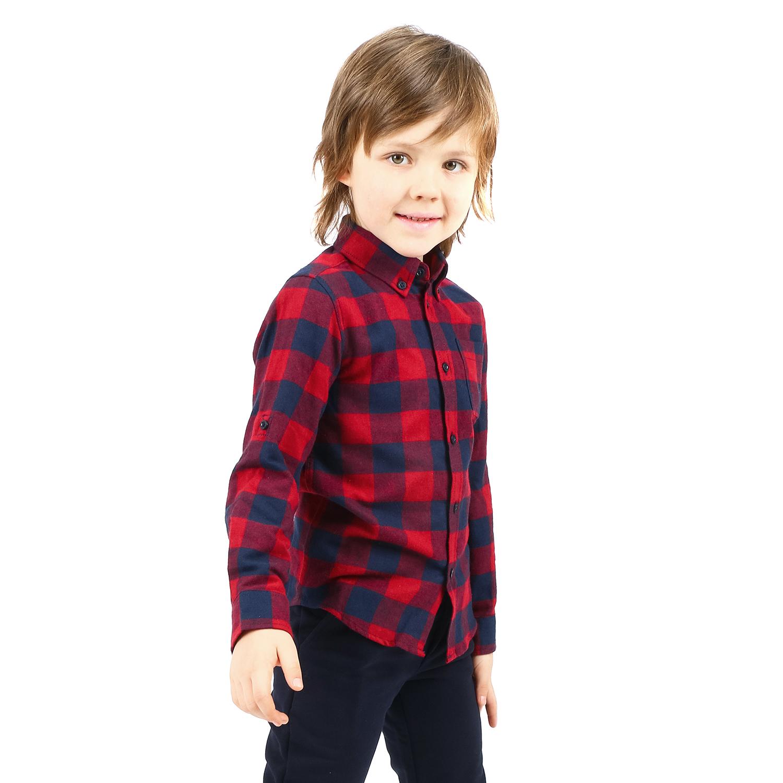 Рубашка Leader Kids красный р.122