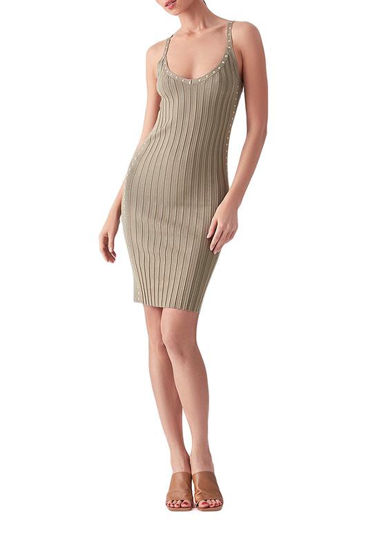 Платье майка женское LOVE REPUBLIC 2553110569 зеленое