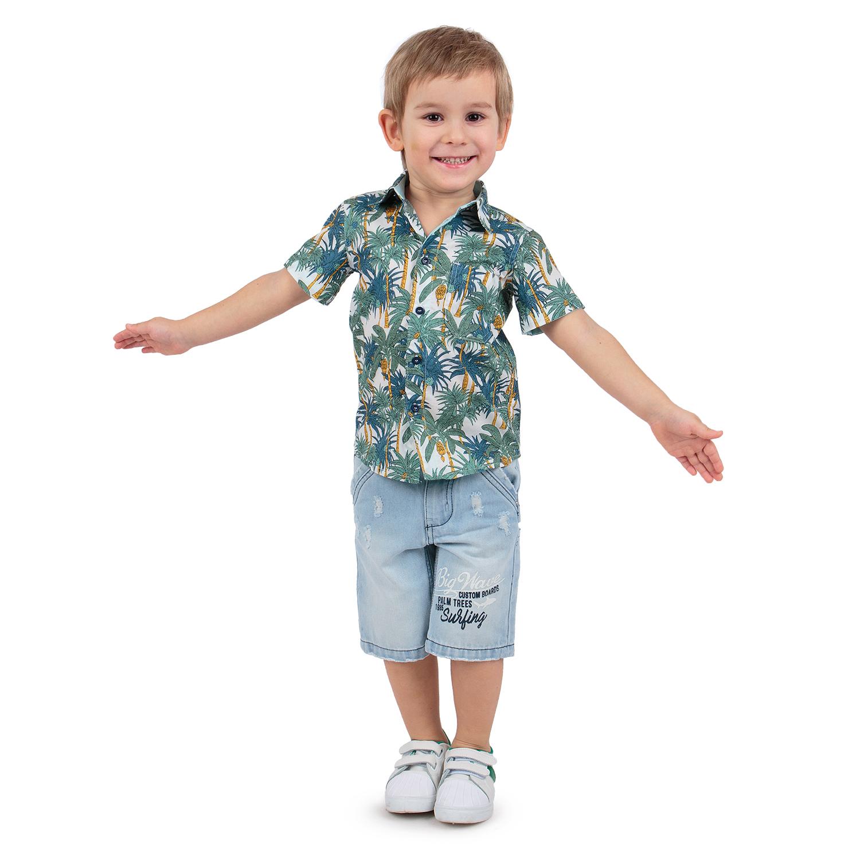 Рубашка Leader Kids белый р.104