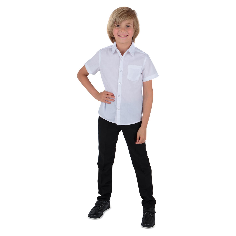 Рубашка Leader Kids белый р.128