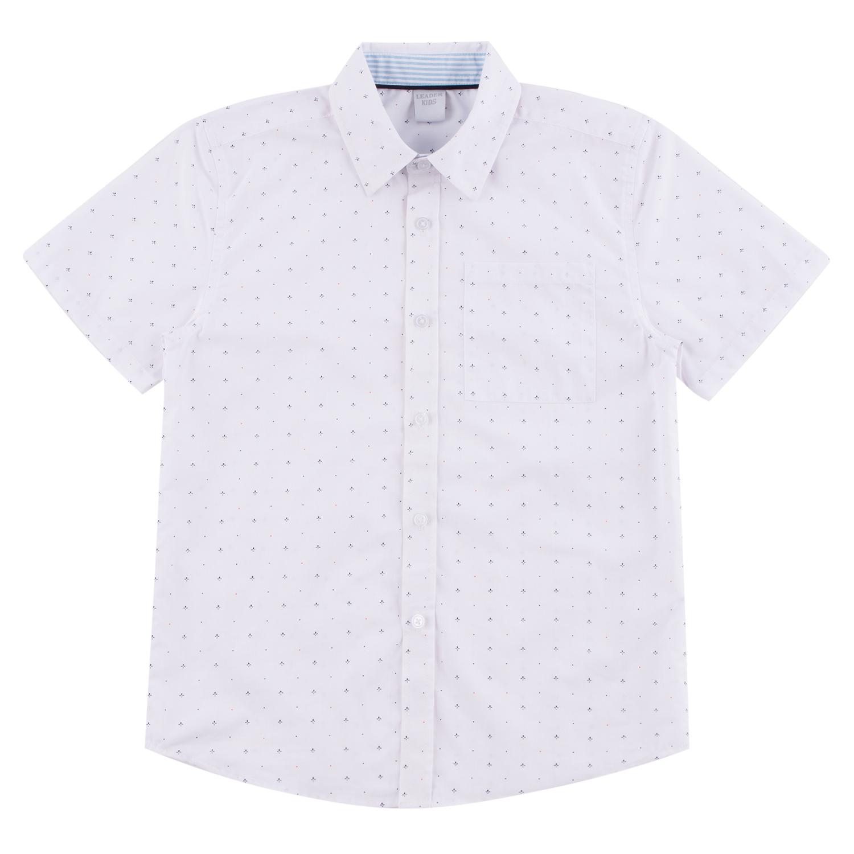 Рубашка Leader Kids белый р.122