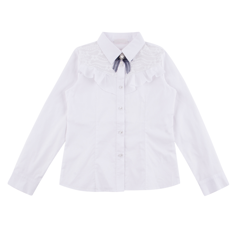 Блузка Colabear белый р.140 GL001350528