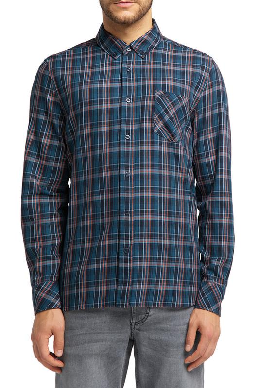 Рубашка мужская MUSTANG 1008976-11602 черная M
