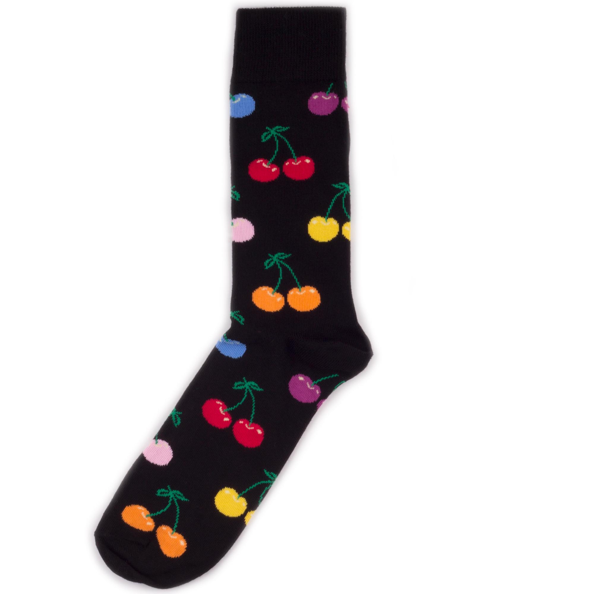 Носки унисекс Happy Socks Happy Socks Cherry - Multicolor разноцветные 36-40