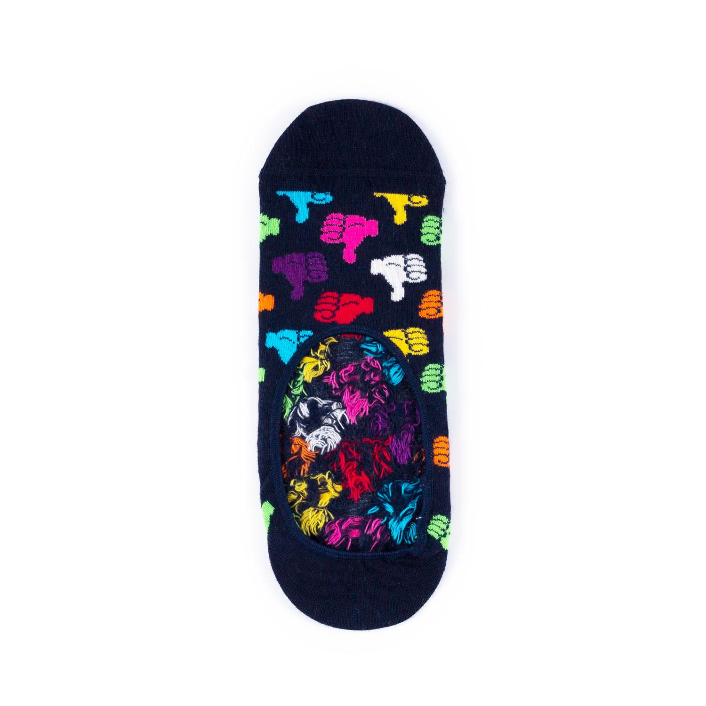 Носки унисекс Happy Socks Happy Socks Liner - Thumbs Up разноцветные 36-40