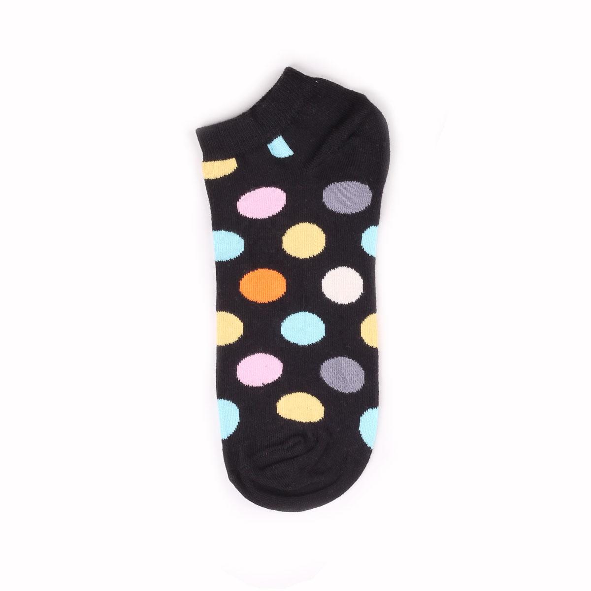 Носки унисекс Happy Socks Happy Socks Low Big Dot - Multicolor разноцветные 36-40