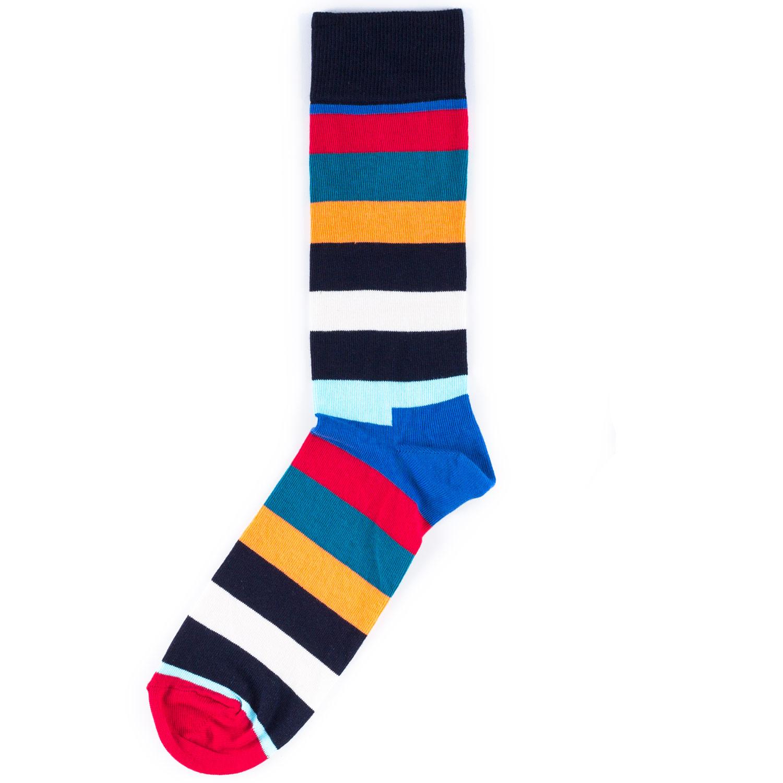 Носки унисекс Happy Socks Happy Socks Stripe - Multicolor разноцветные 36-40