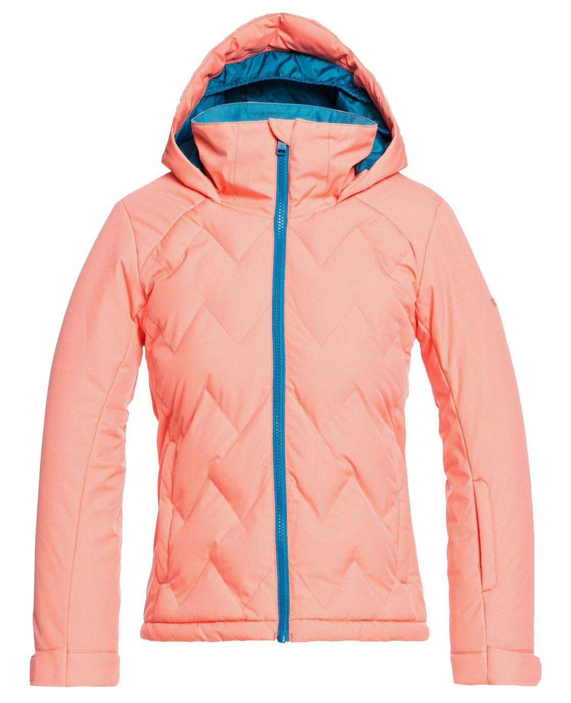 Куртка Сноубордическая Roxy 2020-21 Breeze Fusion Coral (Возраст:12)