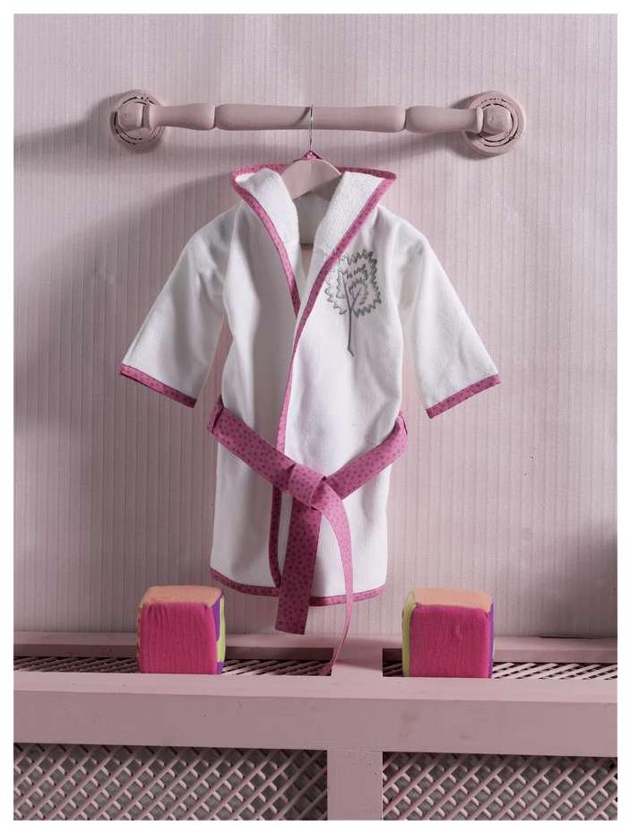 Халат махровый Kidboo Little Farmer Pink,