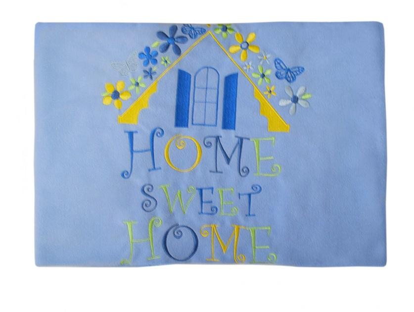 Купить Плед флисовый Kidboo Sweet Home blue, 80x120 см,