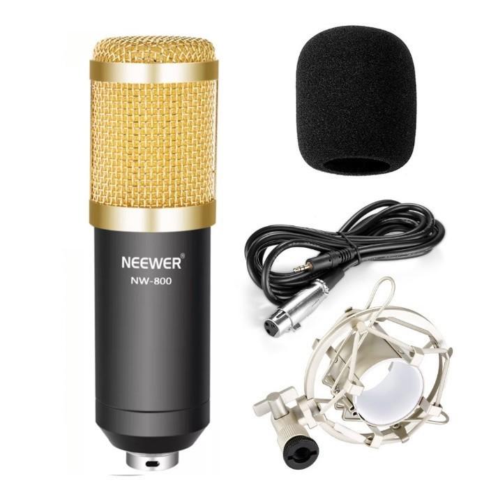 Микрофон Neewer NW-800 Gold/Black