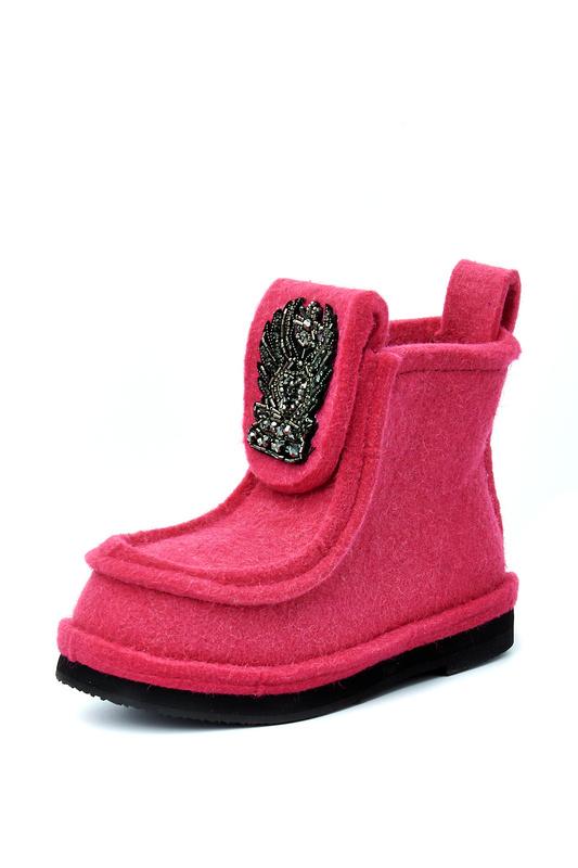 Валенки женские Summergirl 999 розовые 39 RU