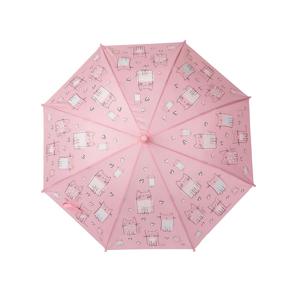 Зонт INSTREET YU-02-10565-014 цв. розовый р. ONE SIZE