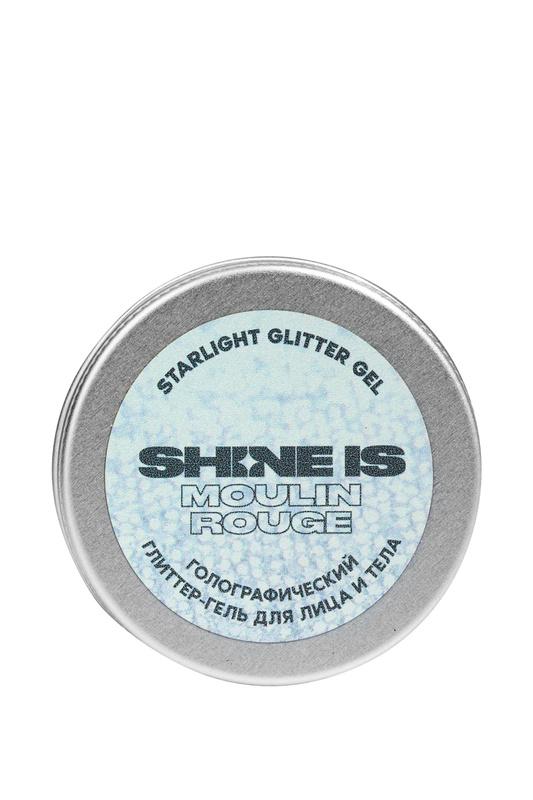 Голографический глиттер гель Shine Is