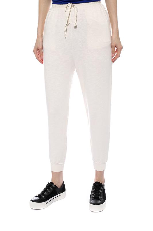 Спортивные брюки женские CLU 5118930 белые XS