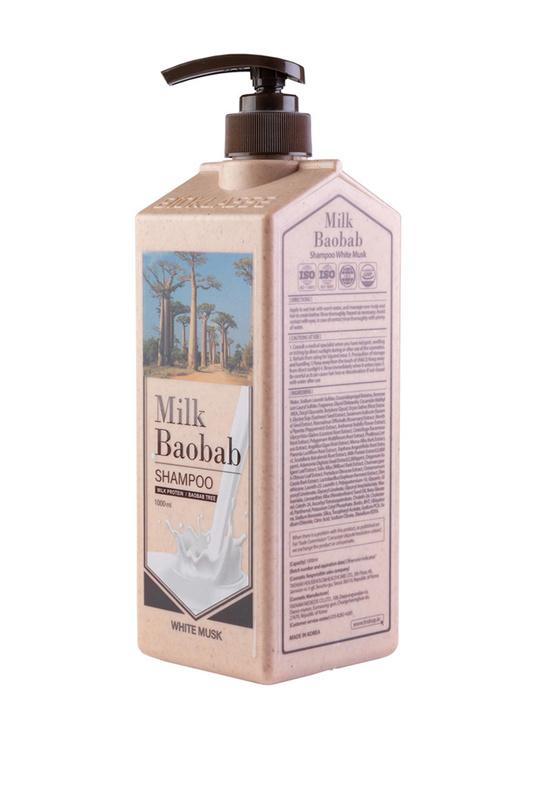 Купить Шампунь MilkBaobab Original Shampoo White Soap 1000мл, MILK BAOBAB