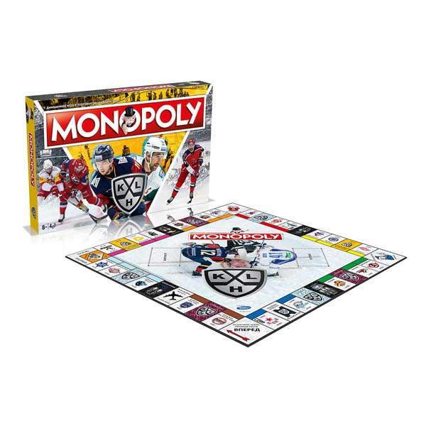Купить Настолная игра MONOPOLY КХЛ Winning Moves WM00876-RUS-6,