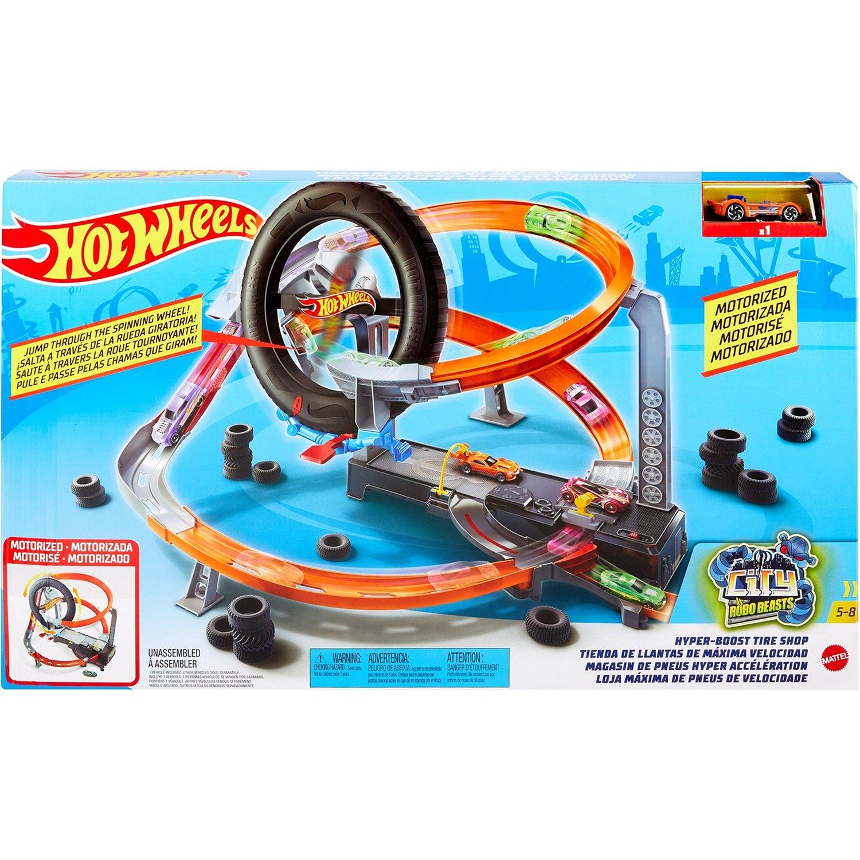 "Mattel Hot Wheels Сити ""Шиномонтажная мастерская"" GJL16"