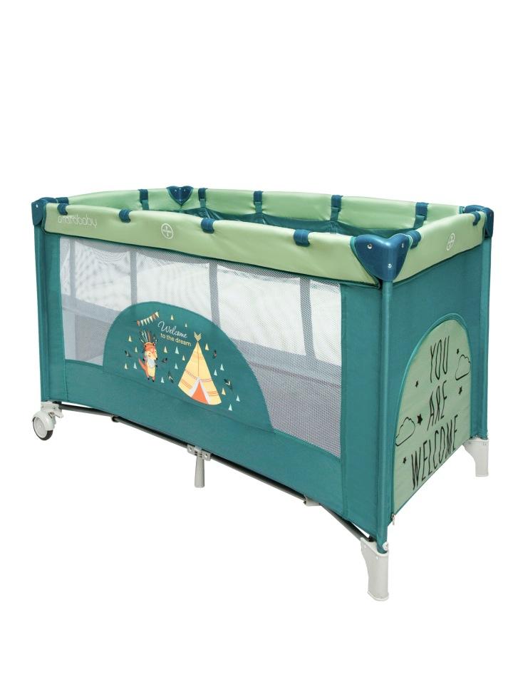 Манеж кровать Amarobaby Multiform Dream Fox прямоугольный,